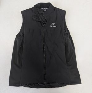 Arc'teryx filled outdoor zip up outdoor vest